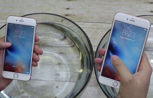 iPhone 6S ve iPhone 6S Plus suya dayanıklı mı? [video]