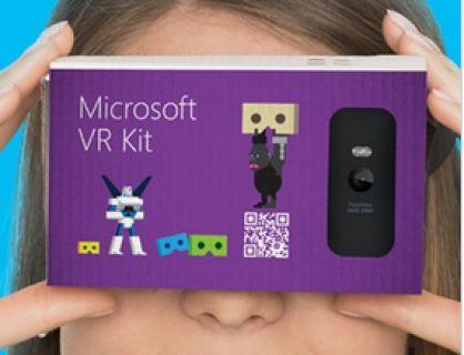 Microsoft'dan Cardboard Rakibi VR KIT