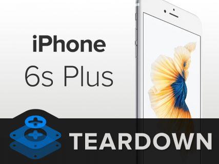 Şimdi de iPhone 6S Plus'ı parçaladılar