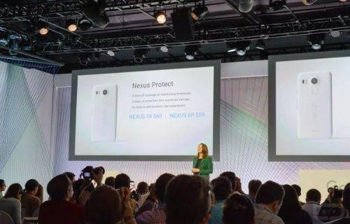 Google, Nexus Protect ile yeni Nexus telefonları 2 yıl koruma altına alacak!