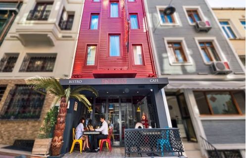 Taksim'in en butik oteli Endless Boutique açıldı