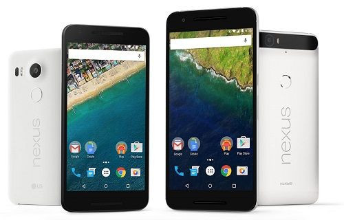 Nexus 5X ve Nexus 6P'nin Avrupa fiyatları netlik kazandı