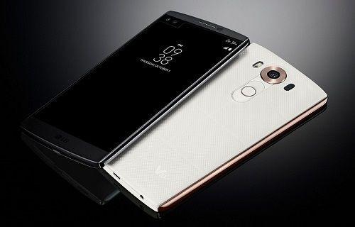 İkinci bir ekran, çift ön kamera ve parmak izi tarayıcısı: LG V10 artık resmi