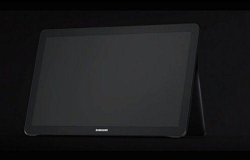 Samsung'un 18.5 inçlik tableti Galaxy View'in özellikleri ortaya çıktı