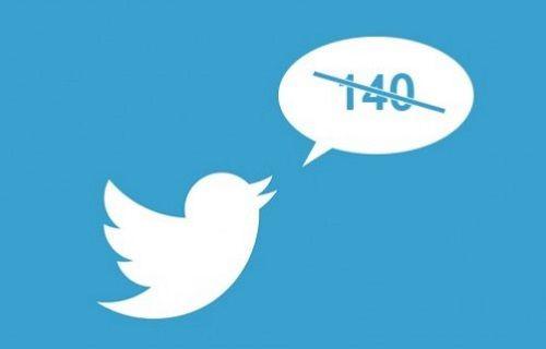 Twitter'da 140 karakter sınırlaması esnetilebilir