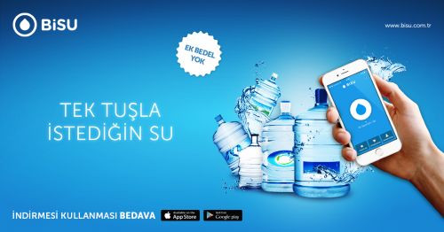 Su Siparişi Vermeye Yarayan Uygulama: BiSU