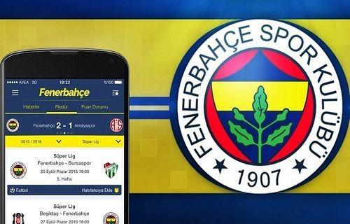 Fenerbahçe SK resmi mobil uygulaması Android ve iOS için yayınlandı