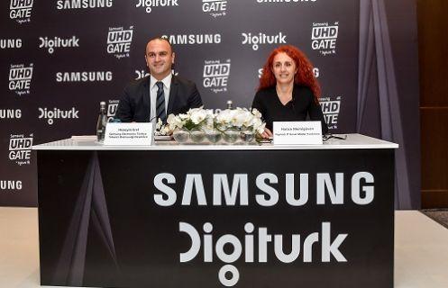 Samsung ve Digiturk'ten UHD (4K) içerikte Türkiye'de bir ilk!