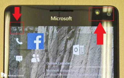 Lumia 950 XL'in sızan görüntüsü pil gücünü gösterdi
