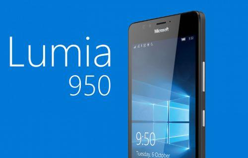Lumia 950 tanıtıldı: Quad HD ekran, Snapdragon 808, PureView kamera ve dahası…