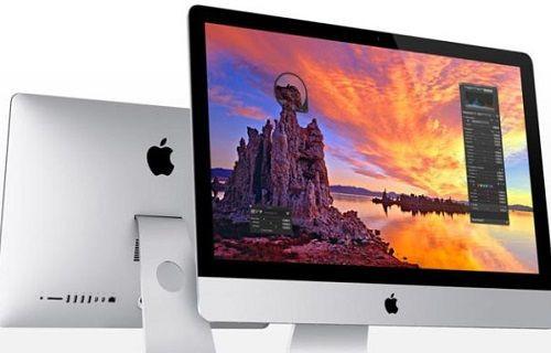 Apple'ın 21.5 inç 4K çözünürlüklü iMac bilgisayarı önümüzdeki hafta tanıtılacak