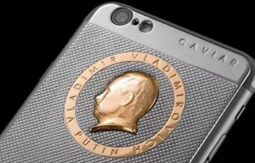 Vladimir Putin'e özel iPhone 6S!