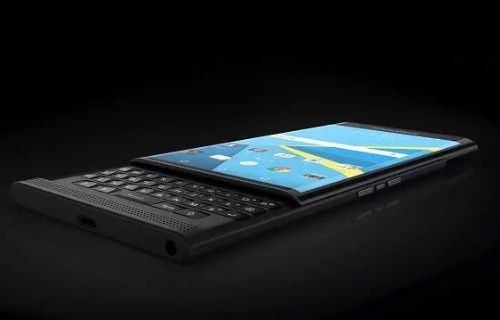 BlackBerry Priv Samsung Galaxy Note 5'ten daha mı ince? (Fotoğraf)