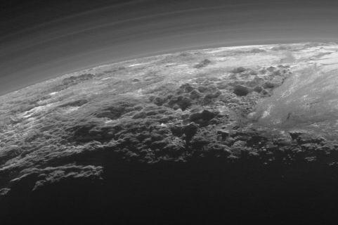 New Horizons'tan Plüton Fotoğrafları