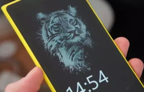 Microsoft Lumia'lara kilit ekranına renkli arka plan görüntüsü ekleme özelliği geliyor!