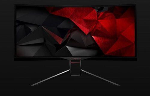 Acer'dan oyunculara özel kavisli monitör: Predator X34