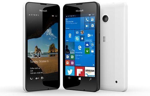 Lumia 550, Avrupa'da ön siparişte