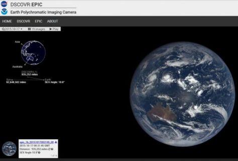 Dünyayı 1.6 milyon mil uzaklıktan hergün izleyin! Nasıl mı?