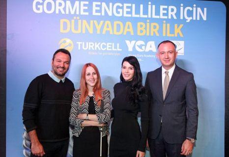 Turkcell görme engelliler için Cepten Sesli Betimleme hizmete girdi