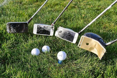 iPhone'larla Golf Oynadılar