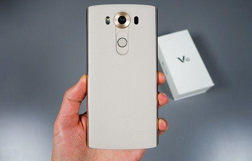 LG'nin süper telefonu V10 kutusundan çıktı