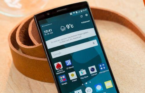 LG G4 Android 6.0 Marshmallow güncellemesi durduruldu!