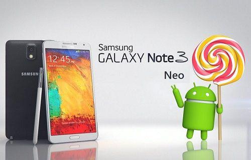 Galaxy Note 3 Neo, Android 5.1.1 güncellemesi almaya başladı