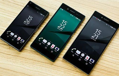 Sony Xperia Z5 serisi Türkiye'ye giriş yapıyor