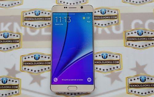 Galaxy Note 5'in 128GB'lık Modeli Satışa Sunuldu