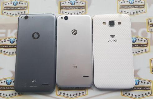 Vodafone Smart 6, Turkcell T60, Avea Grand Max karşılaştırma [Video]