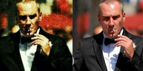 Mustafa Kemal Atatürk sanıp kapak fotoğrafı yaptılar!