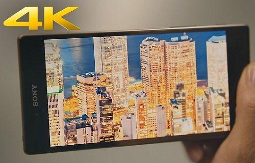Sony Xperia Z5 Premium'un 4K ekranı iPhone 6S Plus'ın ekranına karşı!
