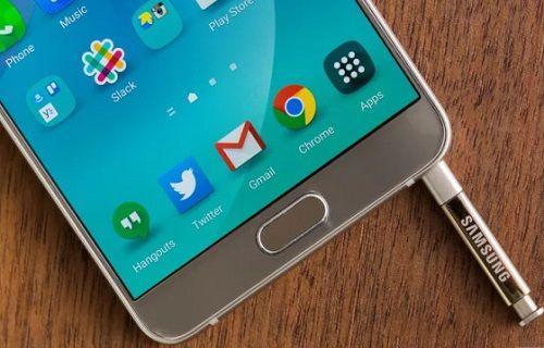 Şanslı bir Galaxy Note 5 kullanıcısı Android 6.0 güncellemesi aldı