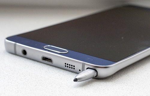 Samsung, Galaxy Note 5'te S-Pen uyarı etiketleri kullanmaya başladı