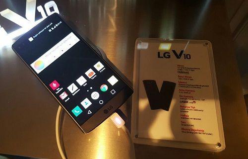 LG V10 Türkiye Lansmanı Gerçekleşti