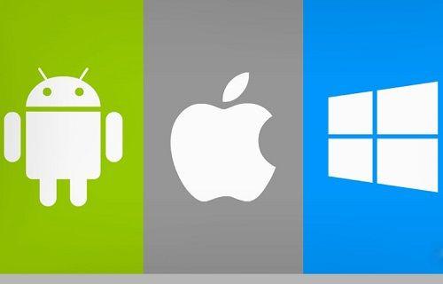 Android ve iOS mobil dünyasının neredeyse tamamına hakim, Windows Phone düşüşte