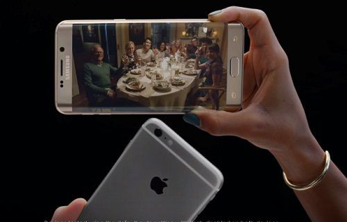 Samsung'dan Apple'a kamera göndermesi: ''O bir telefon değil, o bir Galaxy''