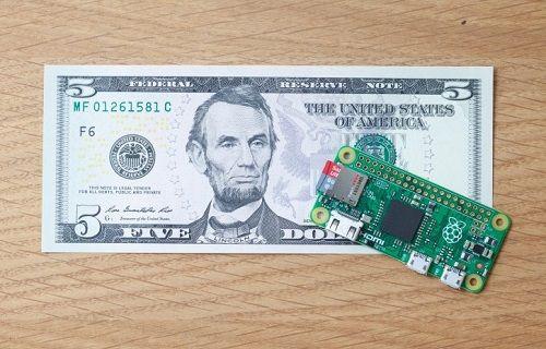 Rasperry Pi'dan 5 dolara bilgisayar