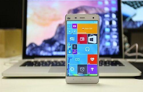 Xiaomi Mi 4'ün Windows 10 Mobile sürümü satışa sunuluyor