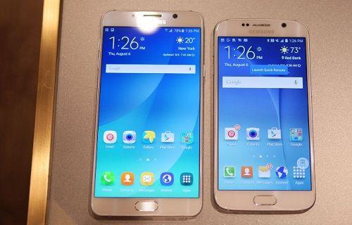 Android 6.0 yüklü Galaxy S6 ve Note 5 ekran görüntüleri