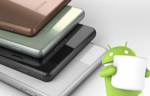 Sony, Android 6.0 güncellemesini ocak ayında başlatacak