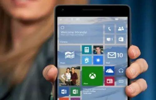 Windows 10 Mobile desteği 2019'a kadar sürecek