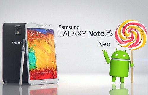 Galaxy Note 3 Neo için Android 5.1.1 güncellemesi yayınlandı