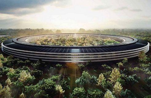 İşte Apple'ın uzay gemisi kampüsünden son görüntüler! (Video)