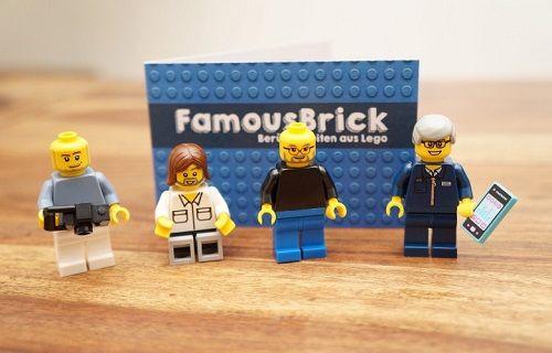 Lego Steve Jobs ile Mark Zuckerber ile tanışın!