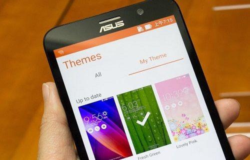 Asus Tema uygulaması Google Play Store'da yayınlandı