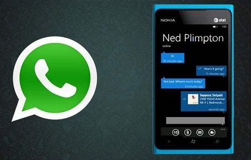 WhatsApp'ın Windows Phone sürümü yeni bir güncelleme aldı