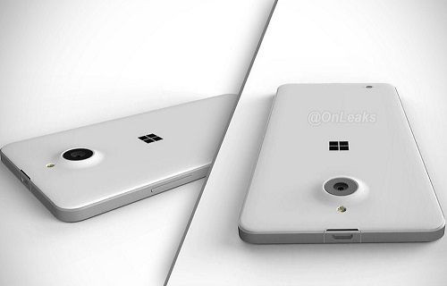 Microsoft Lumia 850'nin yeni bir görüntüsü yayınlandı