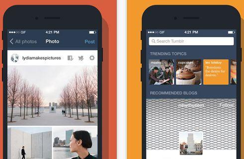 Tumblr, Live Photos (canlı fotoğraflar) ve 3D Touch desteği kazandı