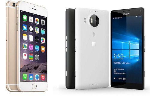 iPhone 6S Plus-Lumia 950 XL: Devlerin kamera kapışması